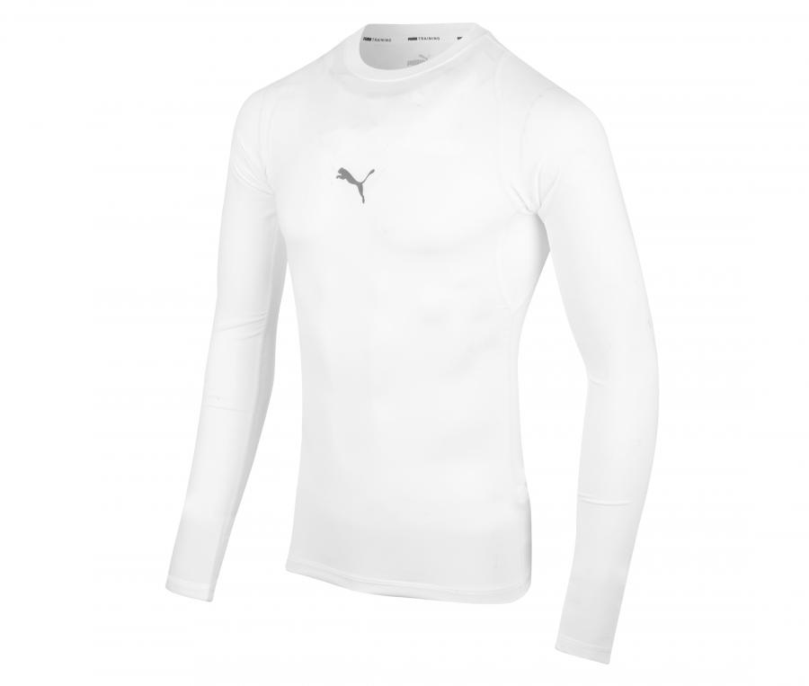 T-shirt Manches Longues Puma Baselayer Blanc