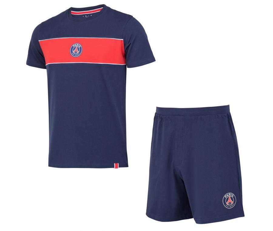 Pyjashort PSG Bleu