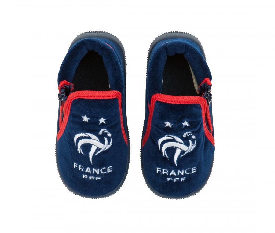 Chaussons France Bleu