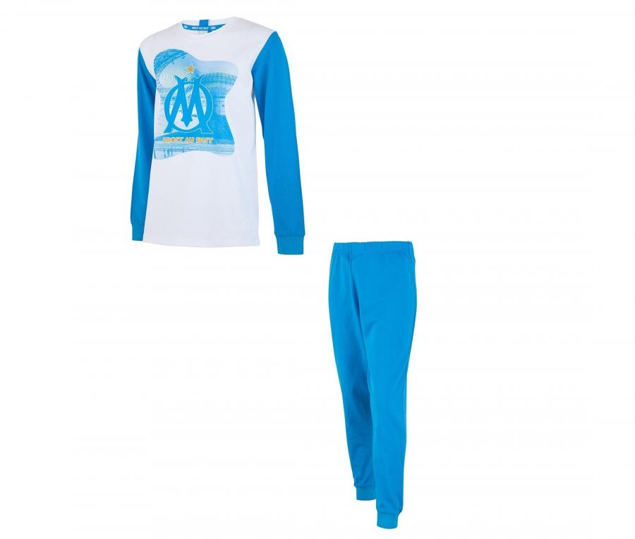 Pyjama OM Bleu/Blanc Junior
