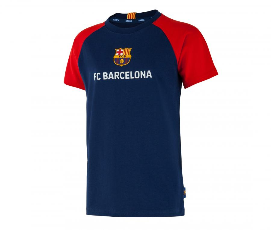 T-shirt Barça Joueur Suarez 9 Bleu Junior