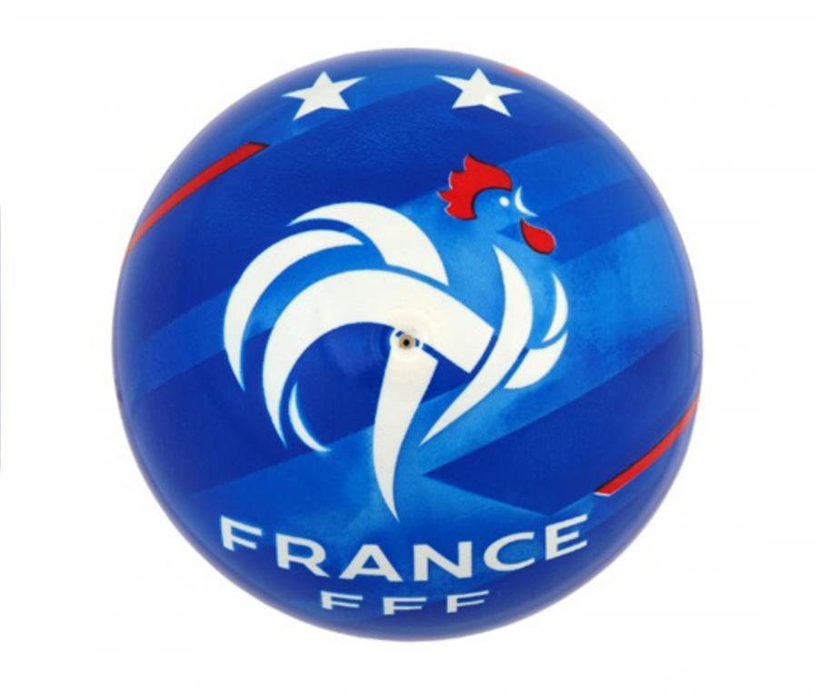 Ballon Plage FFF Bleu