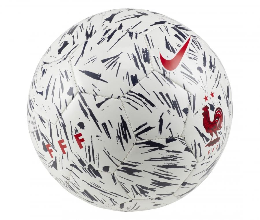 Ballon Nike France Supporter T.5 Blanc
