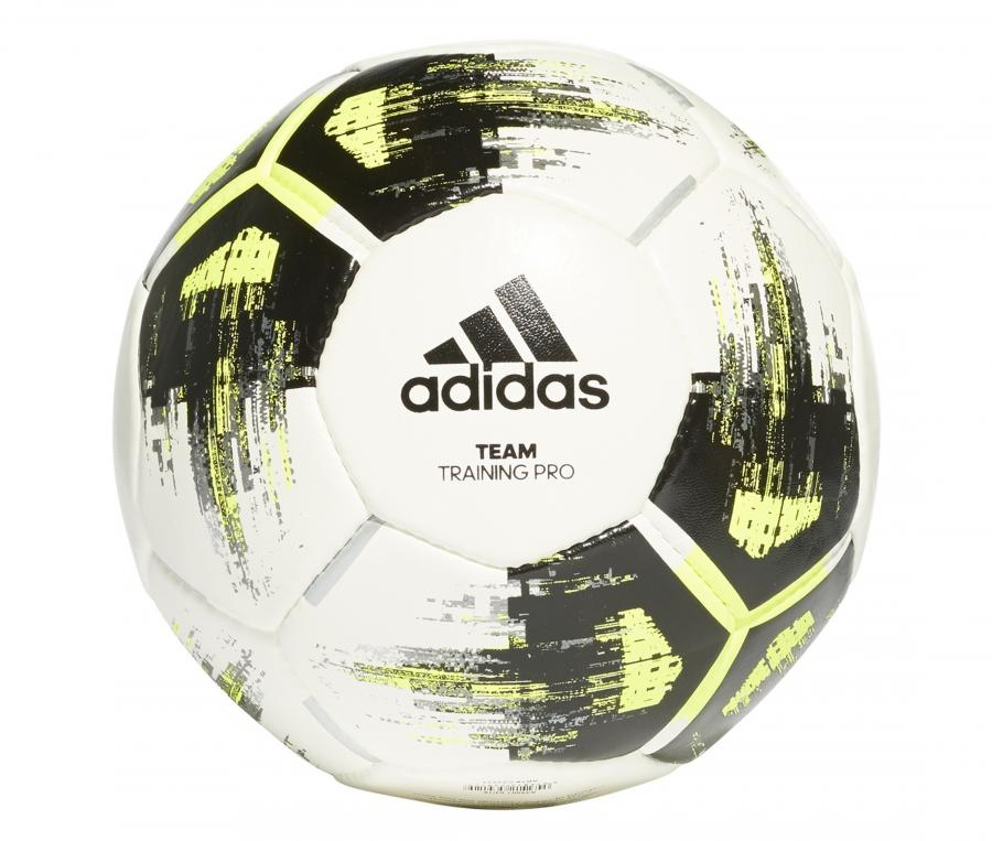Ballon adidas Team Training Pro T.5 Blanc/Noir/Jaune
