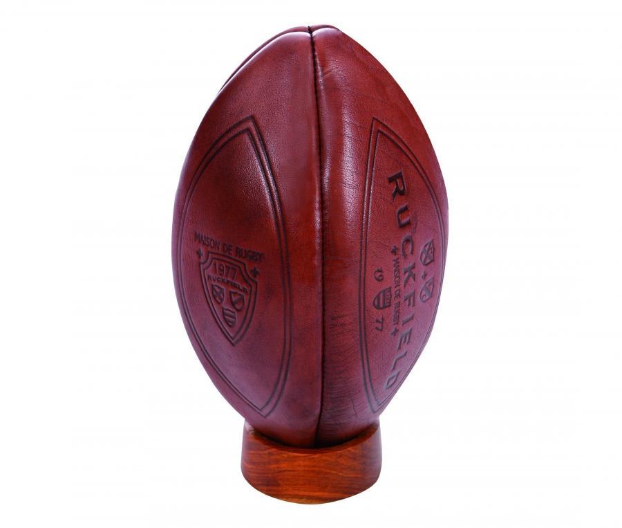 Ballon Ruckfield Maison de Rugby T.5 Marron
