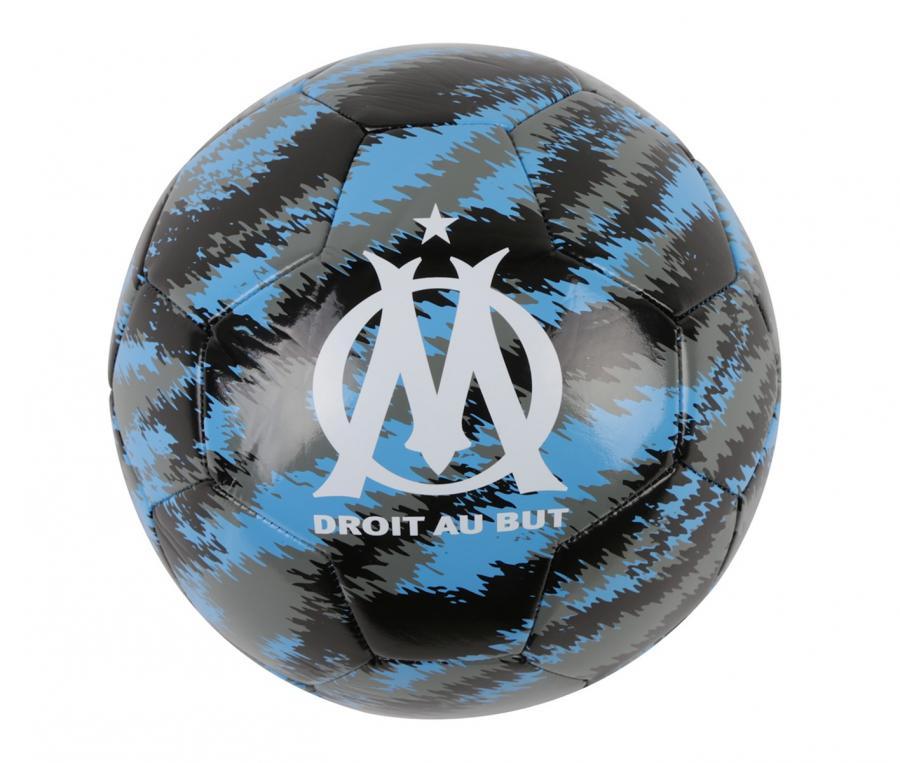 OM Puma Iconic Big Cat Ball Size 5 Black/Blue