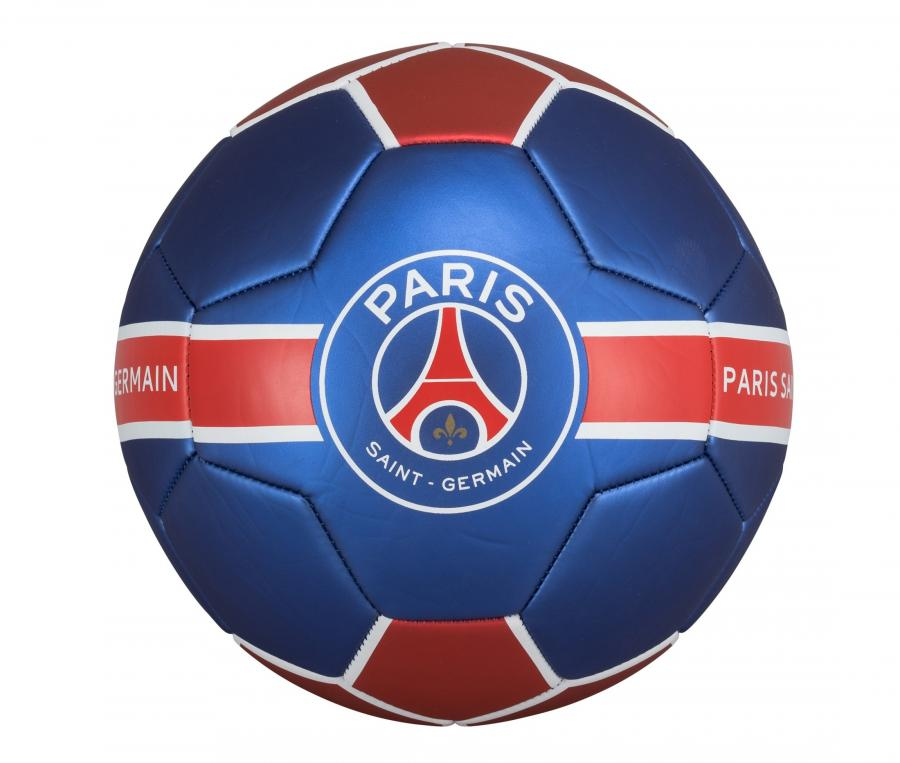Ballon PSG Metallic Bleu