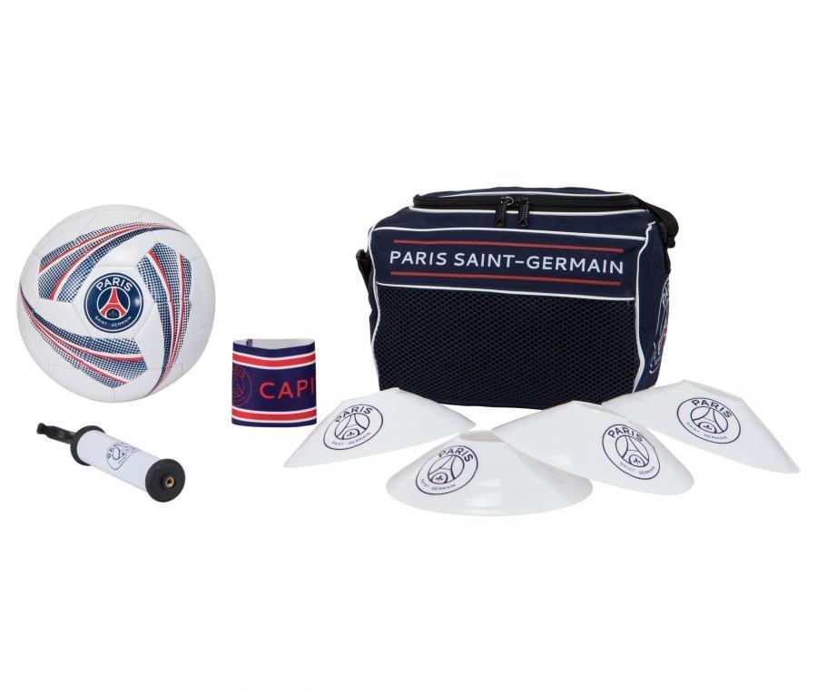 Kit Football PSG Bleu/Blanc