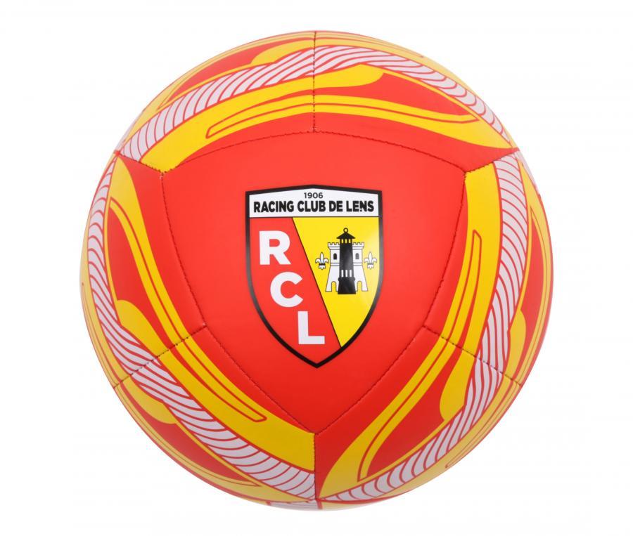 Ballon RC Lens Icon T.5 Rouge/Jaune