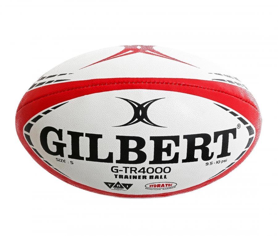 Ballon Gilbert G-TR4000 T.5 Blanc/Rouge