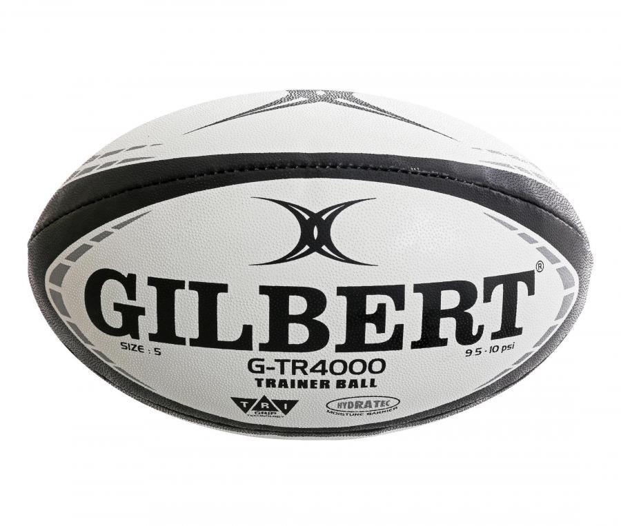 Ballon Gilbert G-TR4000 T.4 Blanc/Noir