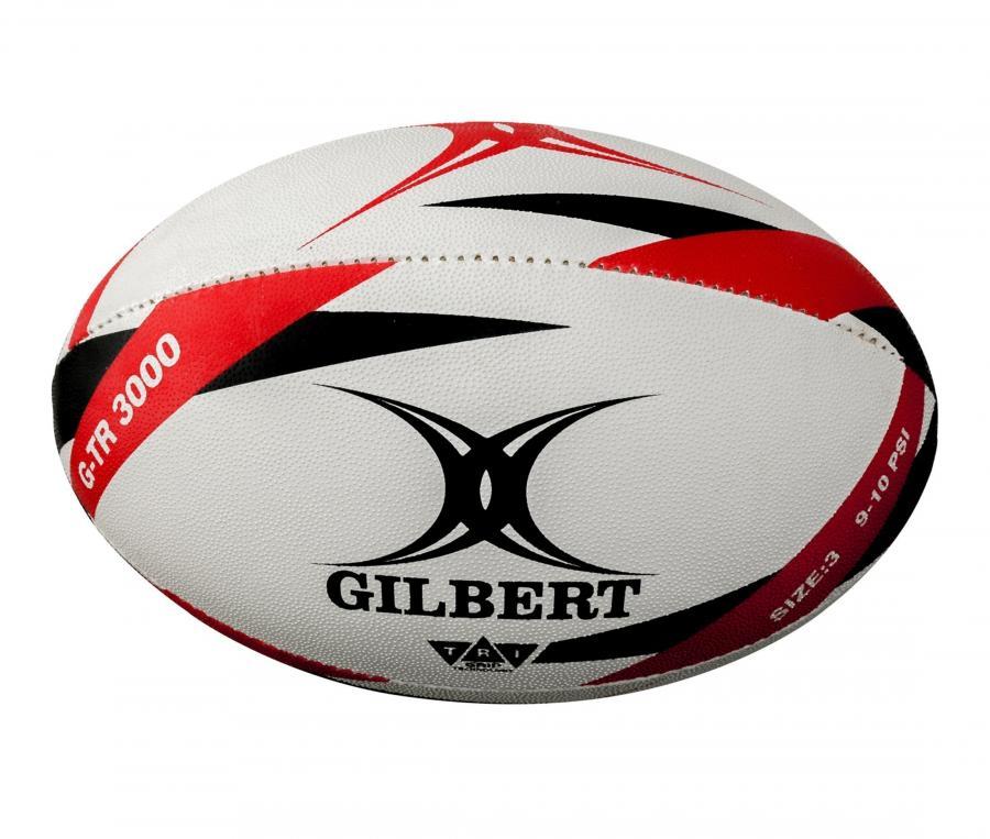 Ballon Gilbert G-TR3000 T.3 Blanc/Rouge