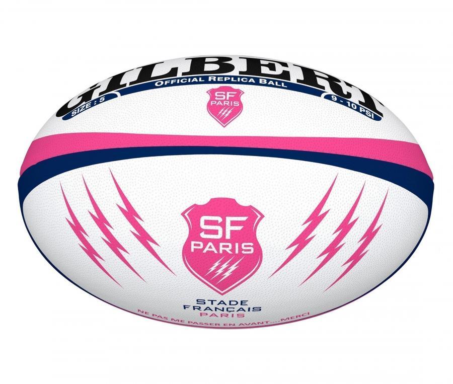 Mini Ballon Gilbert Replica Stade Français T.1 Blanc