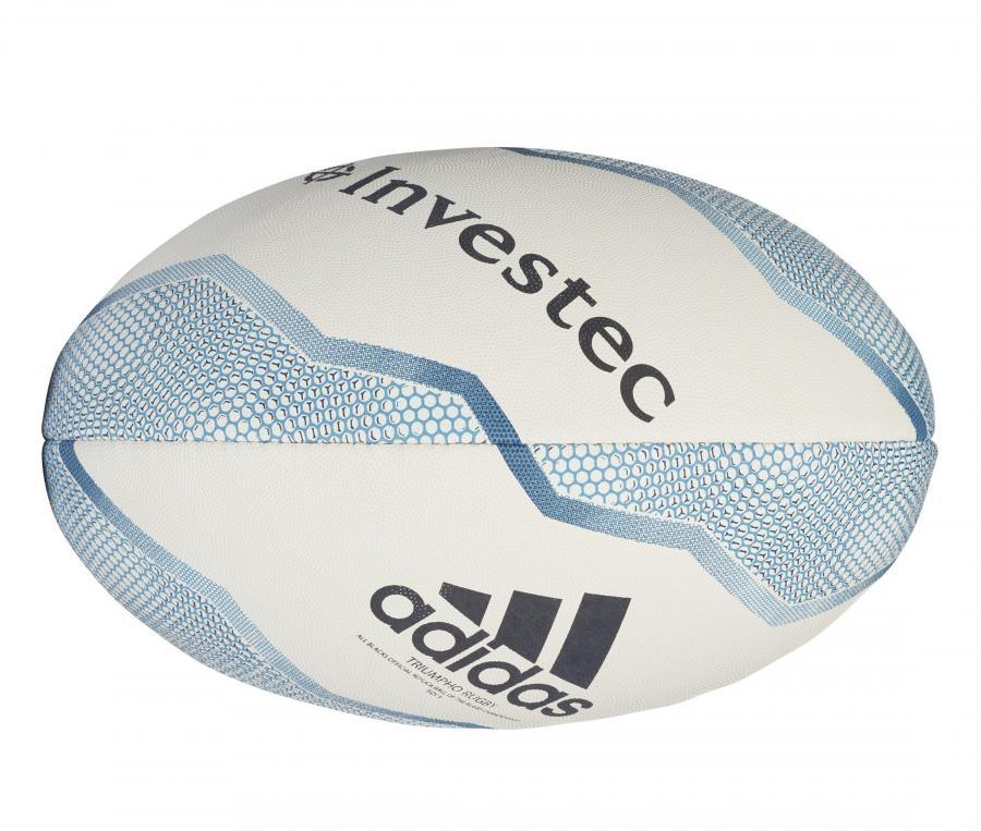 Ballon de rugby adidas All Blacks Blanc/Bleu