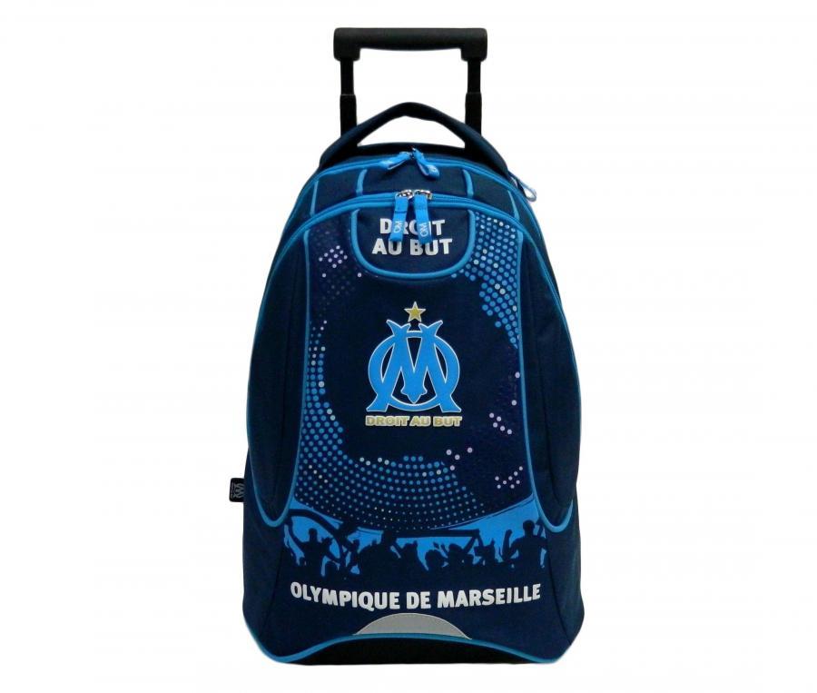 Sac à dos à roulettes OM 47 cm Bleu