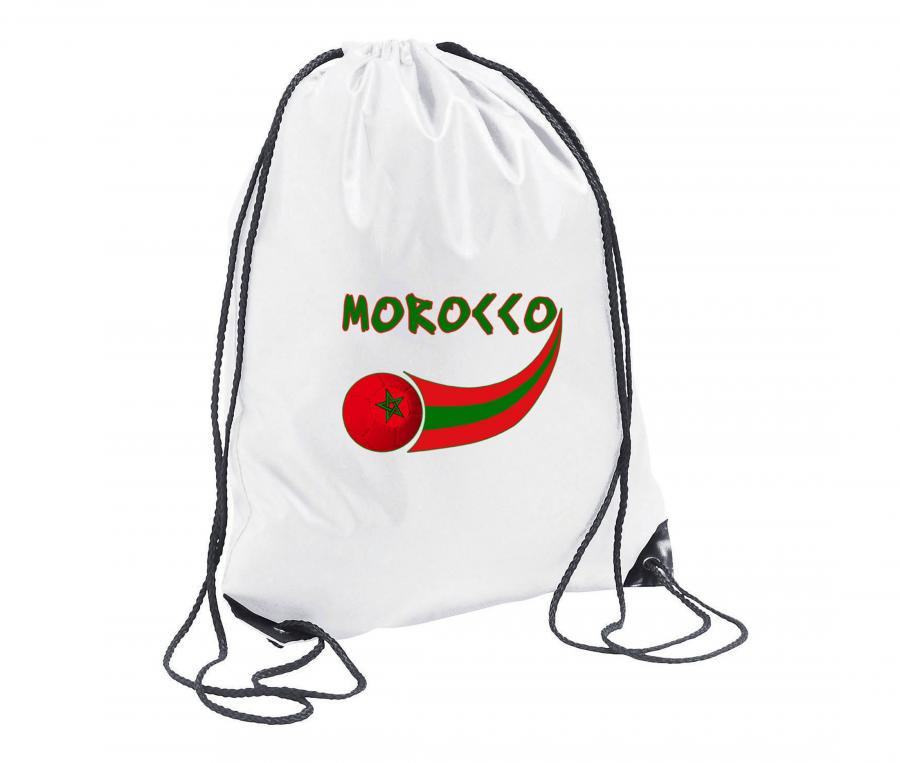 Sac de Gym Maroc Blanc