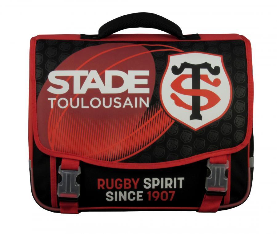 Cartable Stade Toulousain Noir/Rouge
