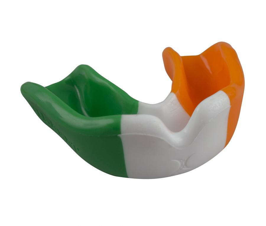 Protège-dents Gilbert Irlande Vert/Blanc/Orange Junior
