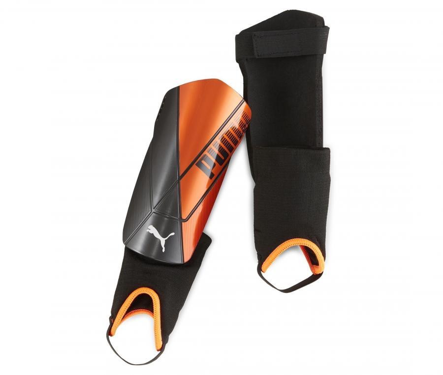 Protège-tibias Puma Team Noir/Orange