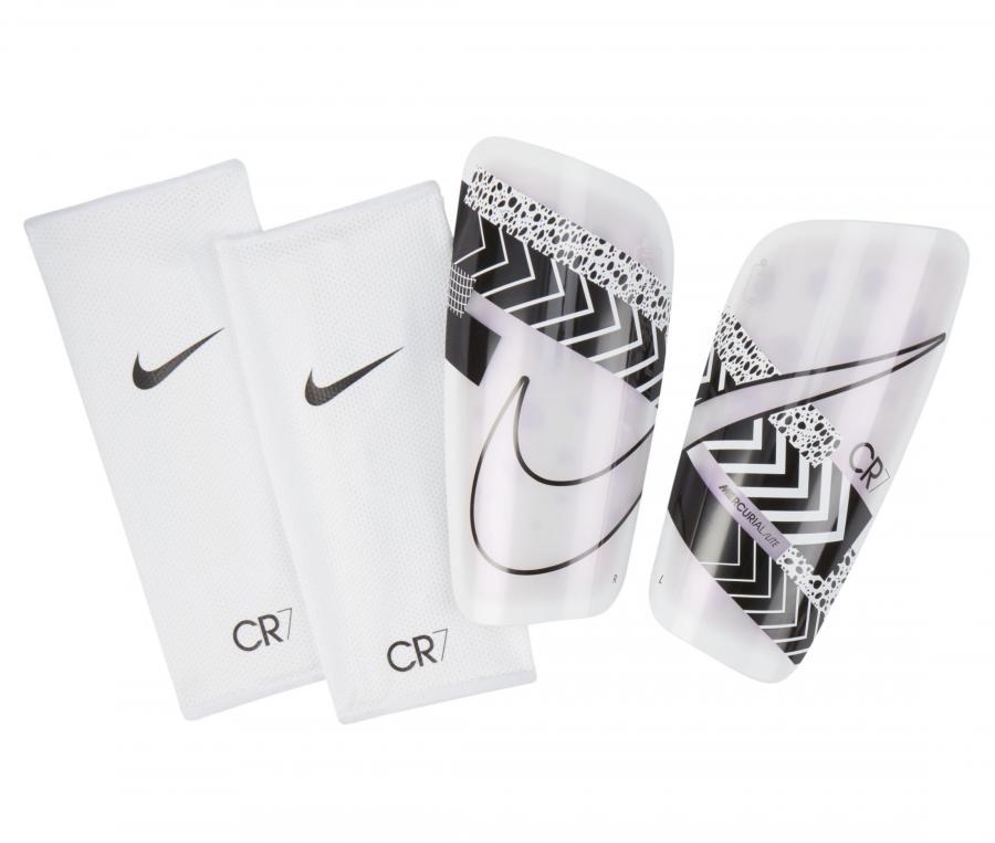 Protège-tibias Nike CR7 Mercurial Lite Blanc