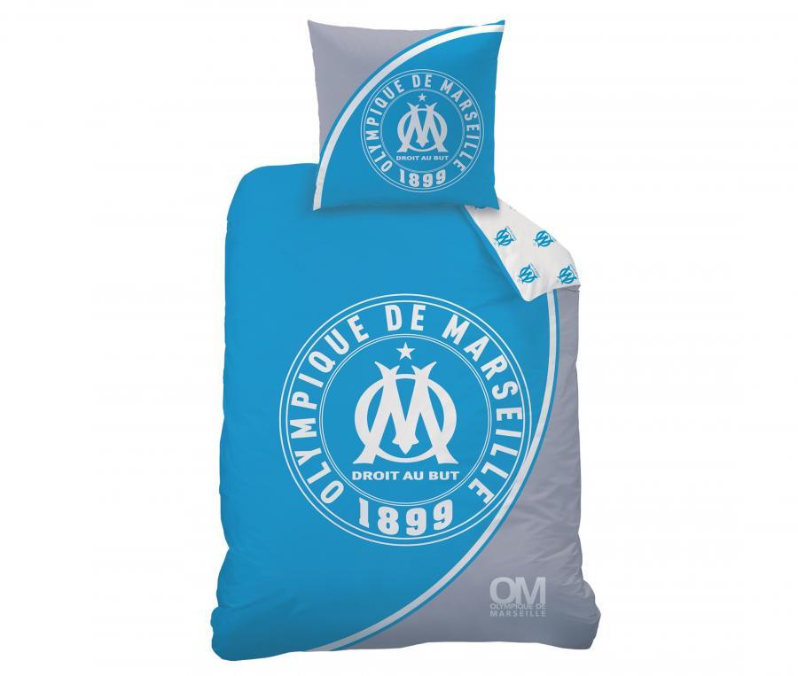 Duvet Cover Single Bed + 1 Pillowcase OM Blue/White