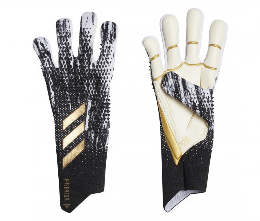 Gants de Gardien adidas Predator 20 Pro Noir/Blanc