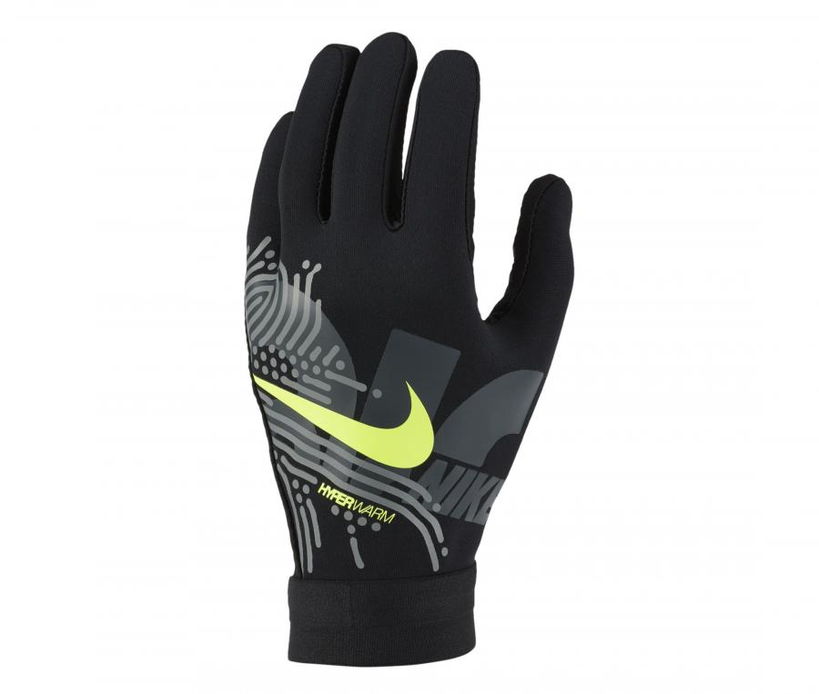 Gants Joueurs Nike HyperWarm Academy Noir
