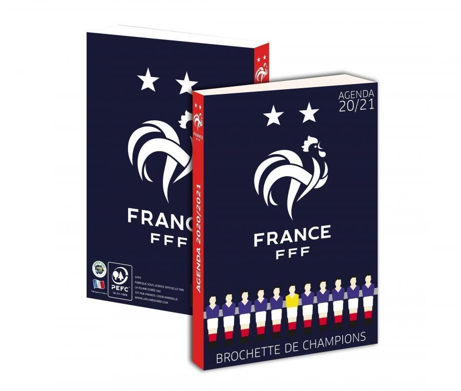 Agenda Scolaire France 2020/21 Bleu