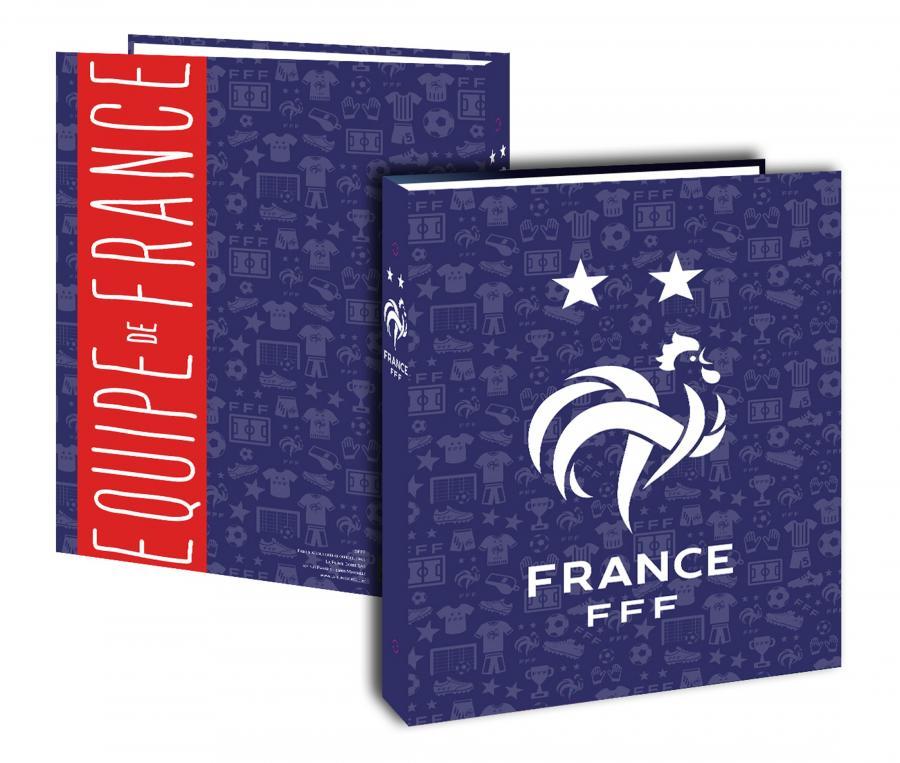 Classeur cartonné France Bleu