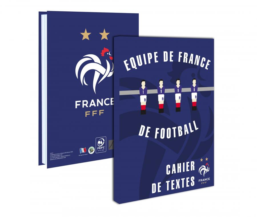 Cahier de textes France 2020/21 Bleu