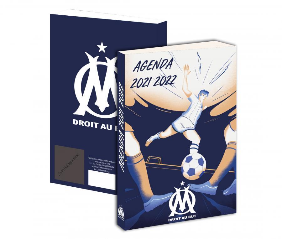 Agenda Scolaire OM 2021/2022 Bleu