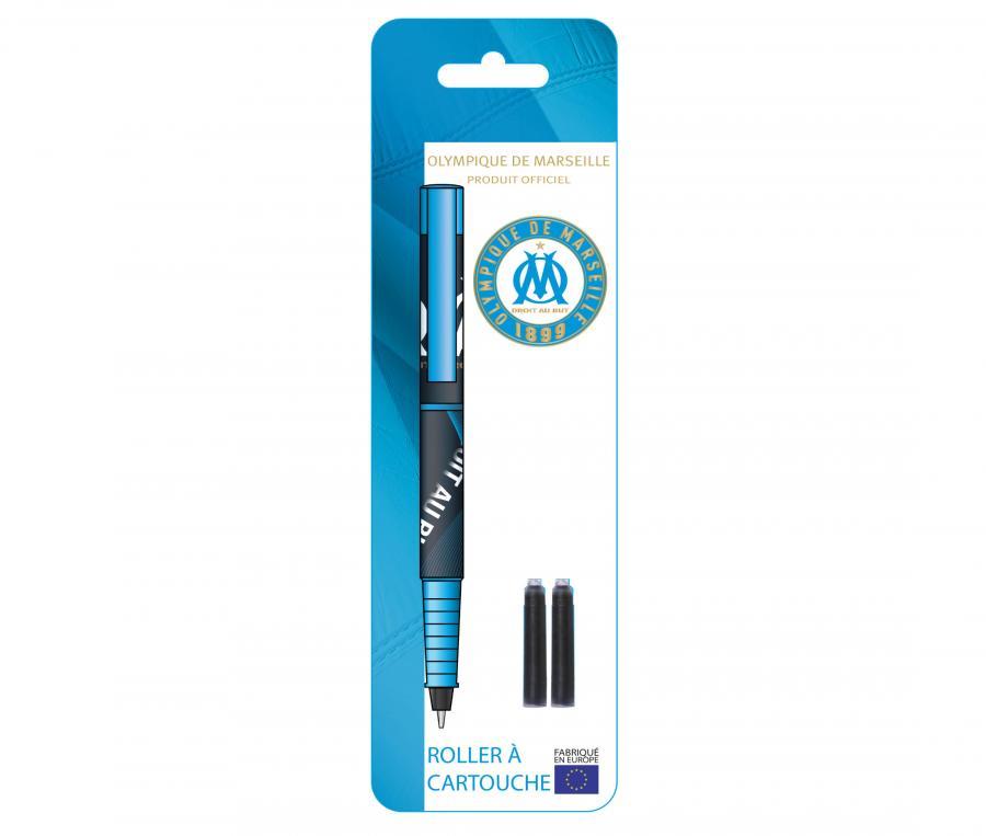 OM Rechargeable Roller Pen Blue