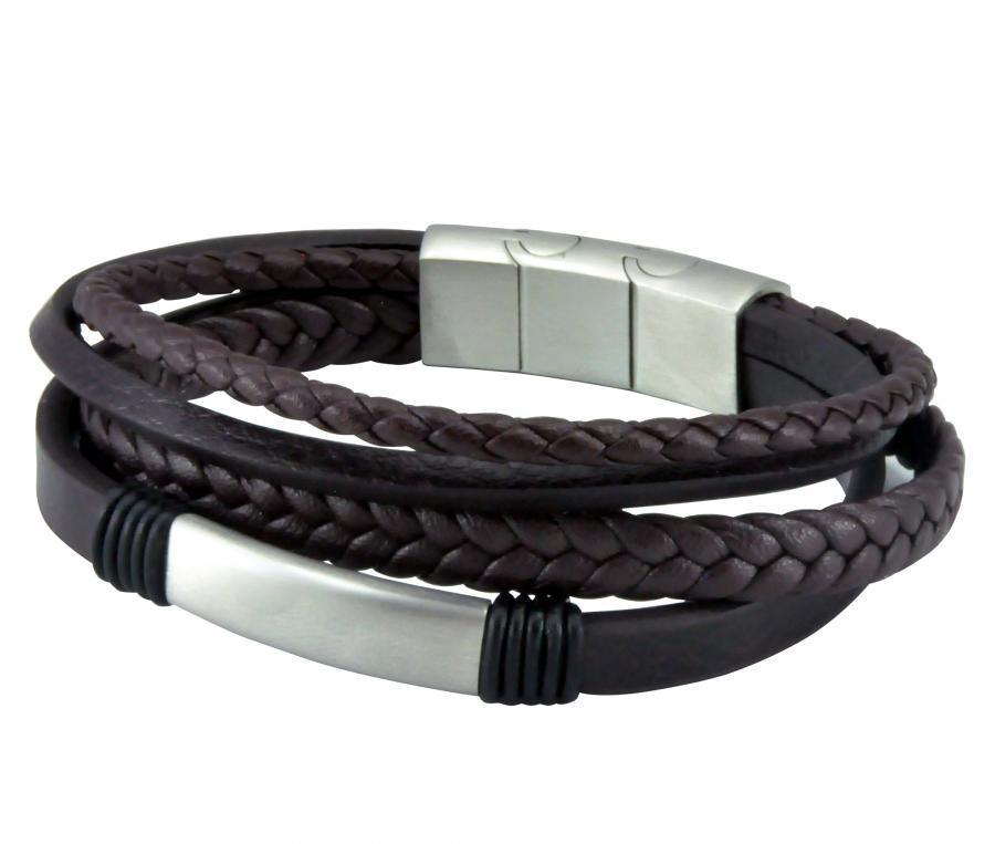 OM Bracelet 4 Patterns Leather