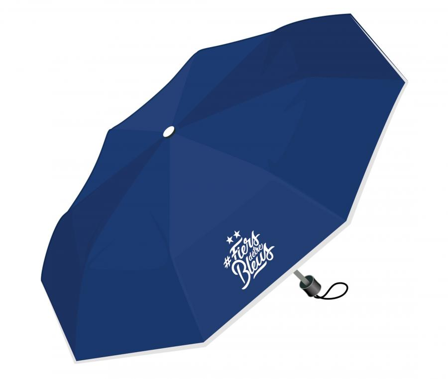 Parapluie France 2 étoiles Bleu