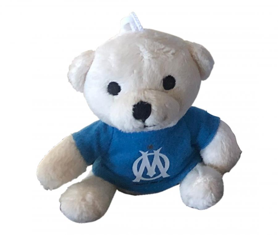 Peluche Ours Ventouse OM Blanc