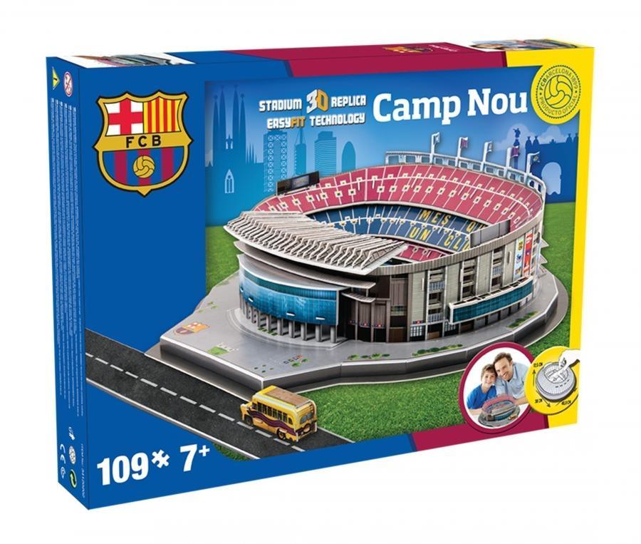 Maquette 3D Stade du Camp Nou Barcelone