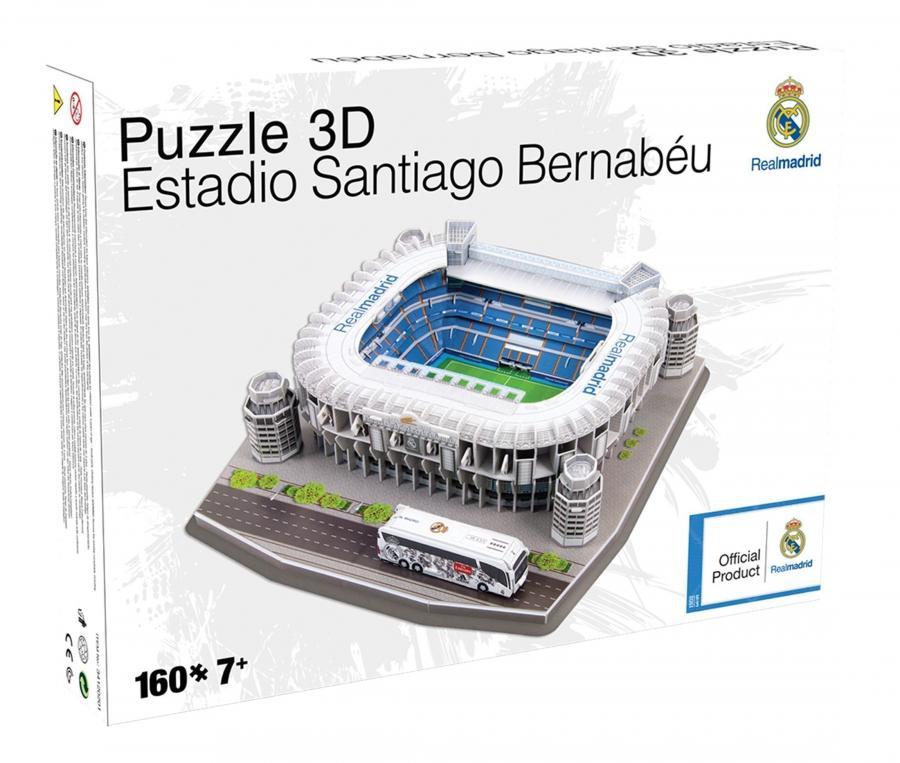 Maquette 3D Stade de Santiago Bernabeu Real Madrid