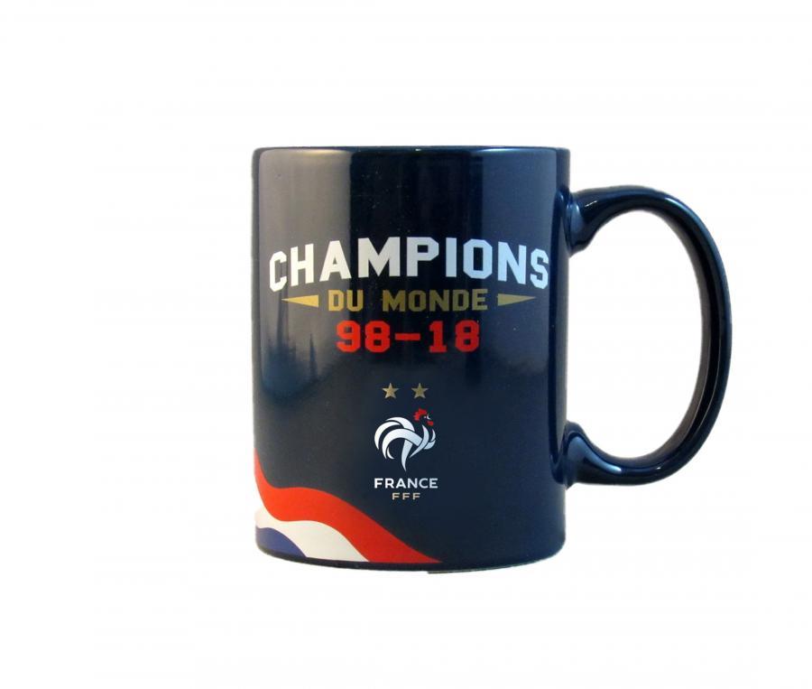 Mug FFF Champions du Monde 250 ml Bleu