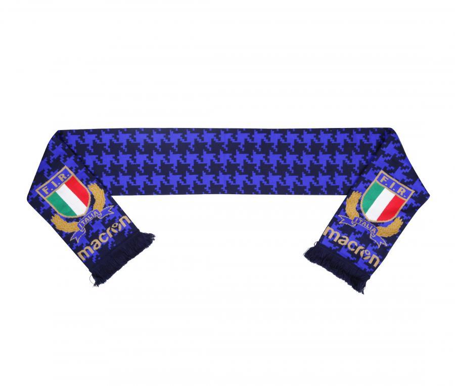 Echarpe Italie Rugby Bleu