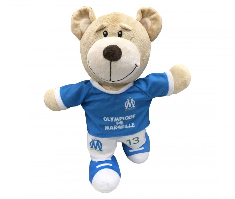 OM Peluche 35cms maillot