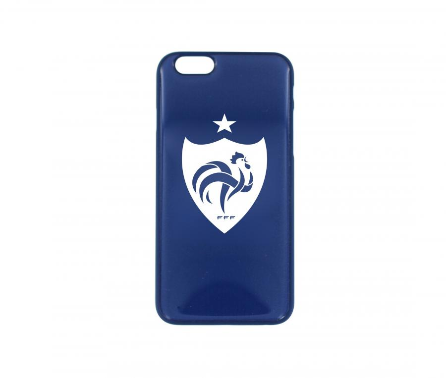 Coque iPhone 6 FFF Blason Bleu