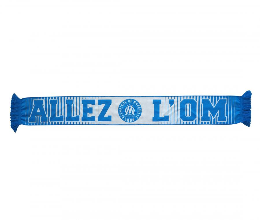 Bufanda Allez L'OM Blanco/Azul