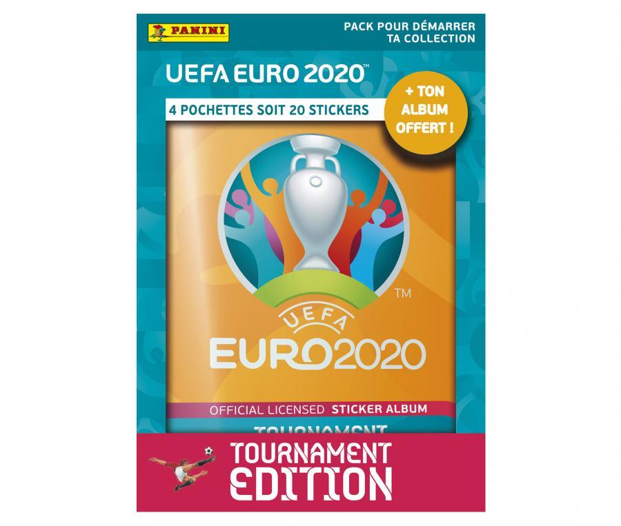 Pack de démarrage Panini UEFA EURO 2020 TOURNAMENT EDITION