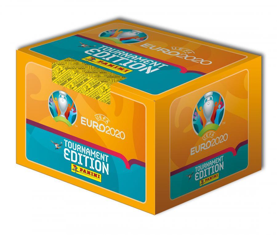 Boîte de 500 Stickers Panini UEFA EURO 2020 TOURNAMENT EDITION