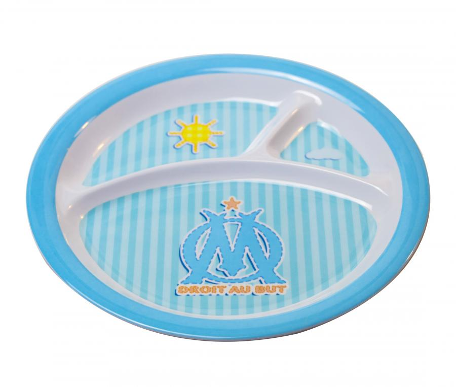 Baby's Plate OM Blue