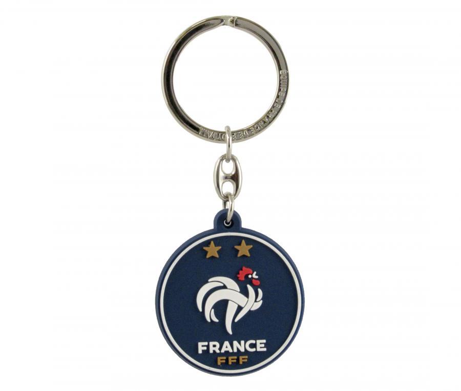 Porté-clés FFF Logo Bleu