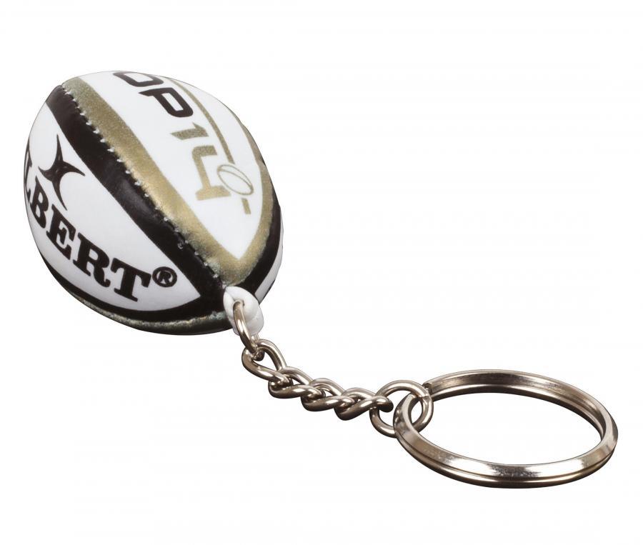 Porte-clefs Gilbert Ballon Top 14 Blanc