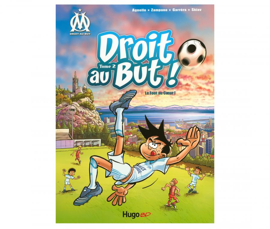 "OM Book ""Droit au But : Le foot au coeur"" Volume 2"