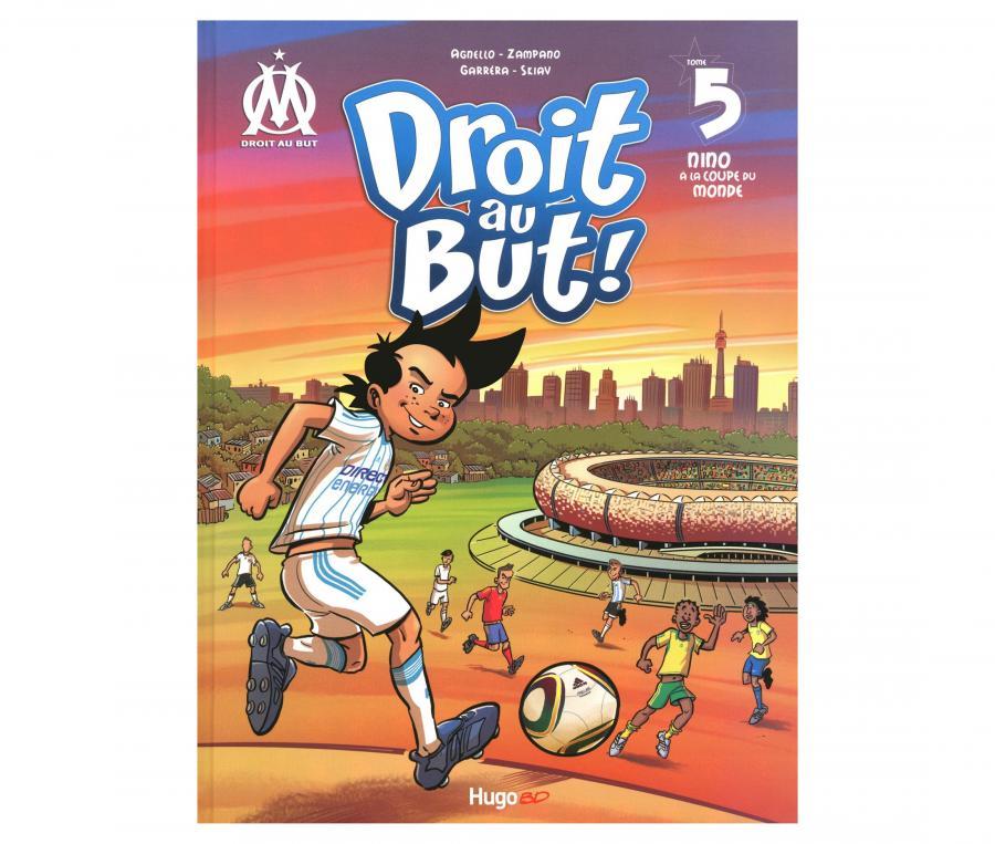 """Libro OM """"Droit au But : Nino à la Coupe du Monde """" Tomo 5"""