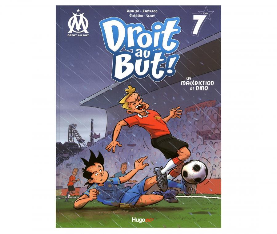 "Libro OM ""Droit au But : La malédiction de Nino"" Tomo 7"